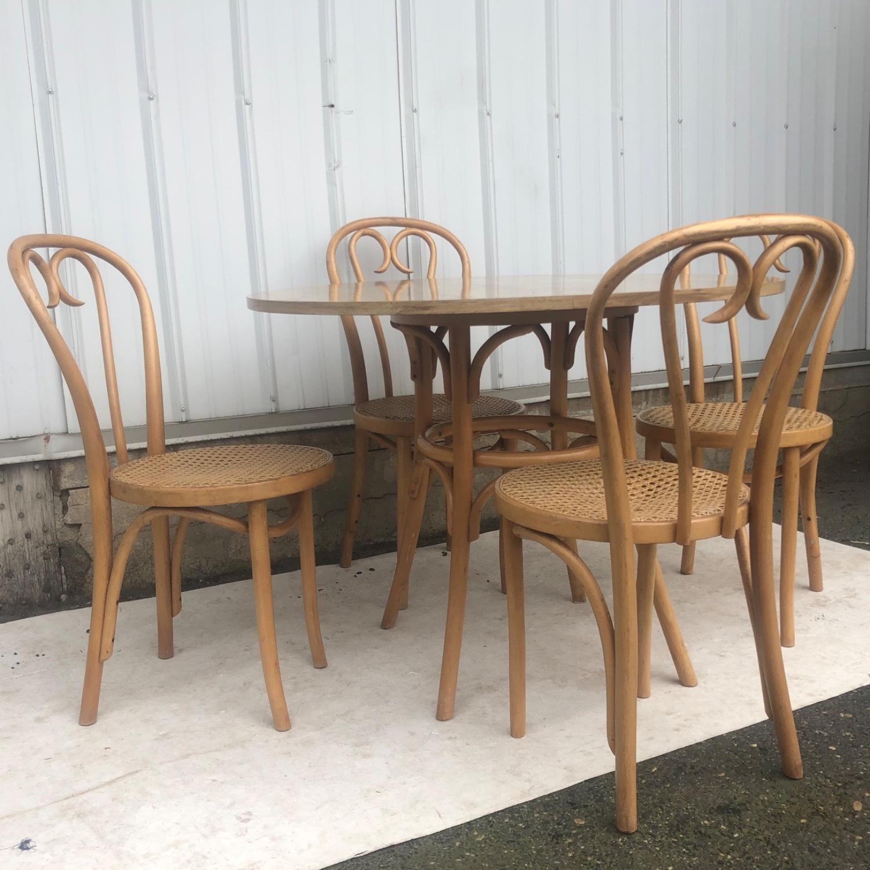 Vintage Boho Dining Set- Four Chairs - image-3
