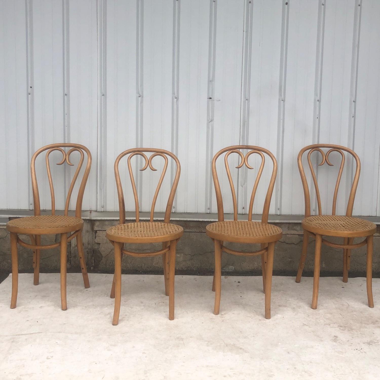 Vintage Boho Dining Set- Four Chairs - image-10