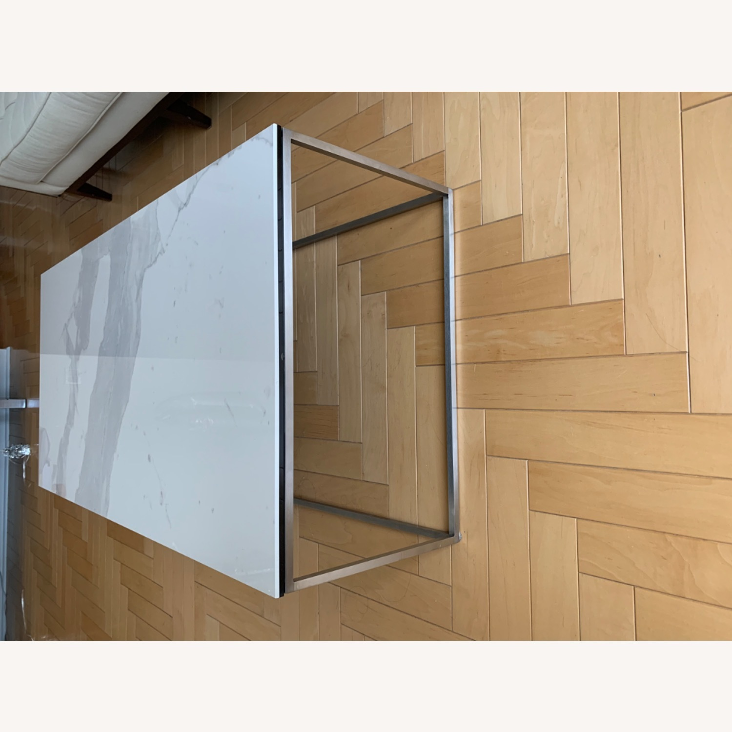 Room & Board White Coffee Table - image-2