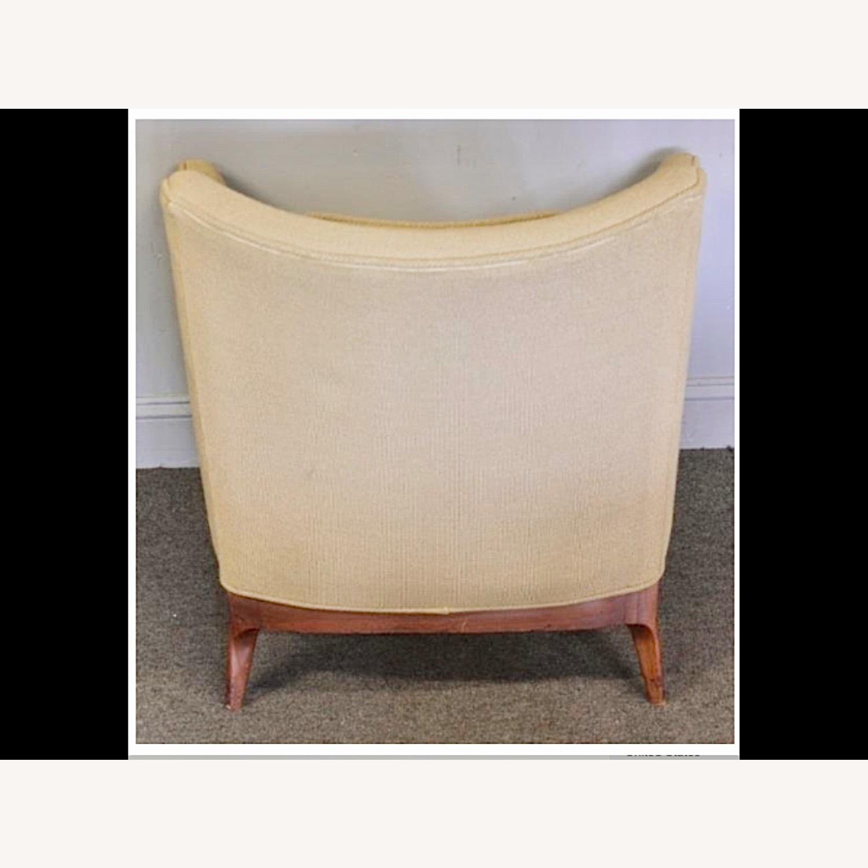 Pair of Mid Century Danish Upholstered Armchairs - image-4