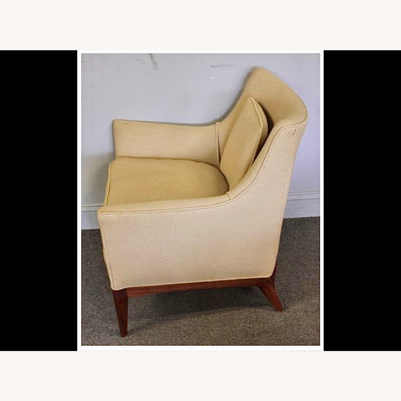 Pair of Mid Century Danish Upholstered Armchairs - image-3
