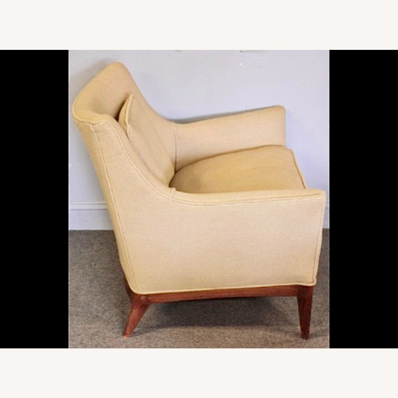 Pair of Mid Century Danish Upholstered Armchairs - image-2