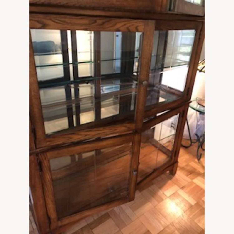 Thomasville Oak China Cabinet - image-4