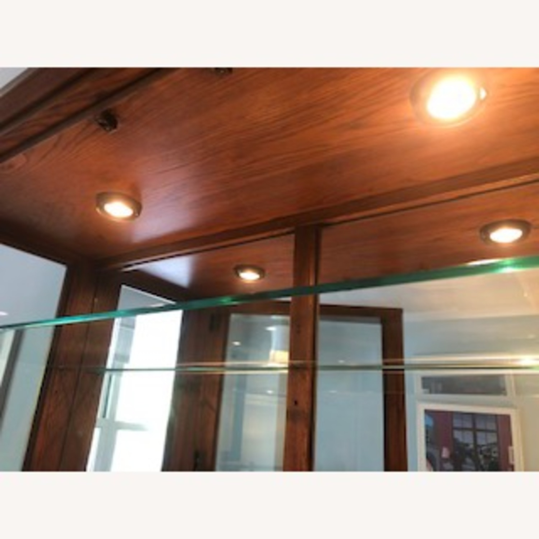 Thomasville Oak China Cabinet - image-2
