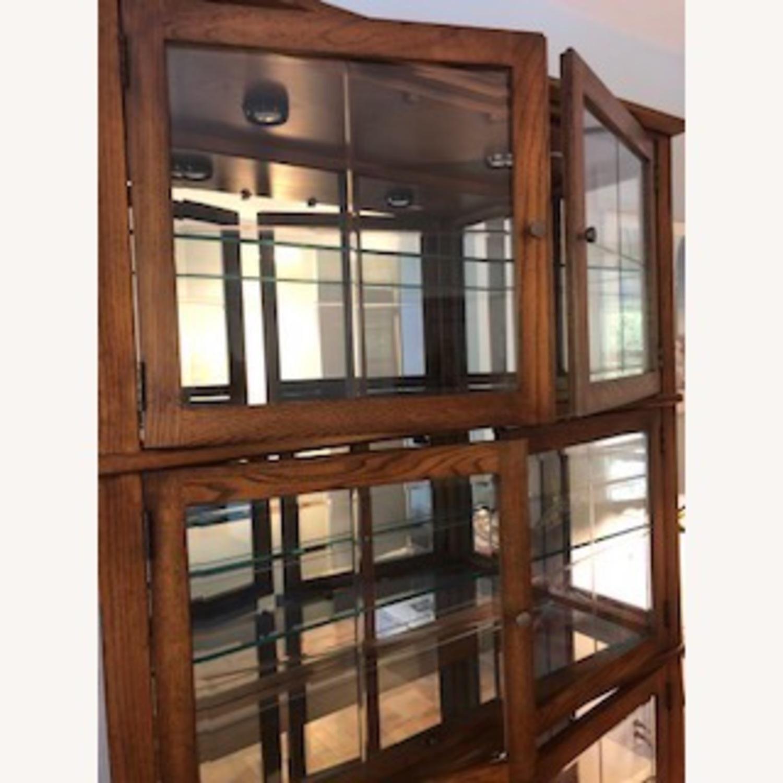 Thomasville Oak China Cabinet - image-5