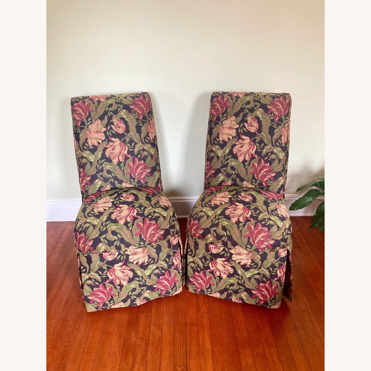 Jessica Charles Skirted Dining Chairs Set - image-1