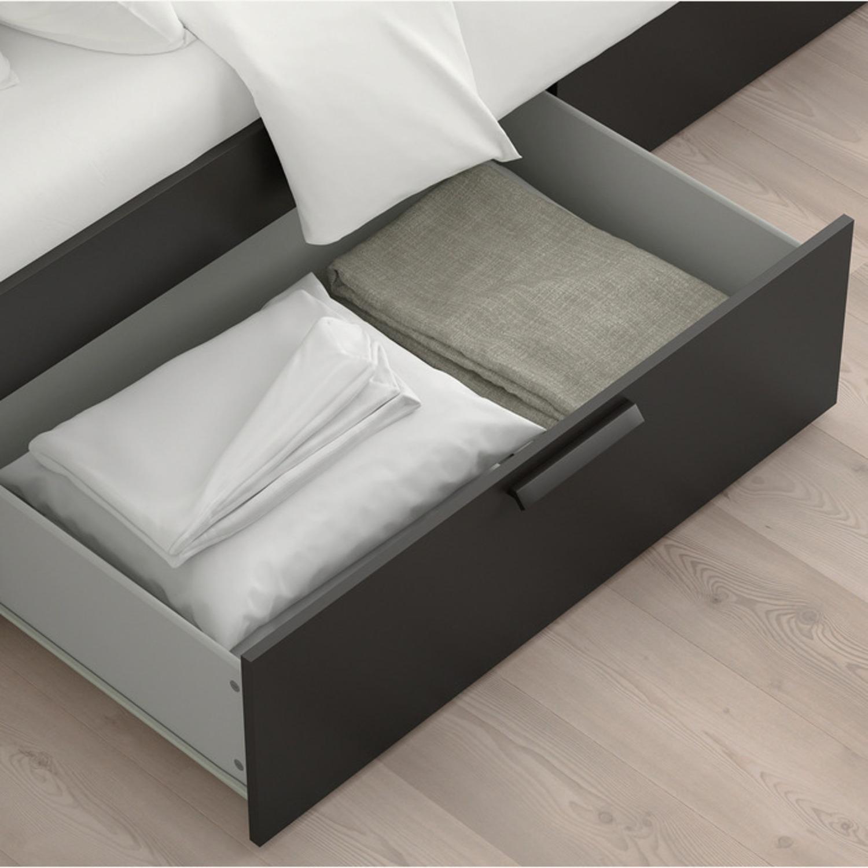 IKEA Brimnes Bed Frame with Storage - image-6