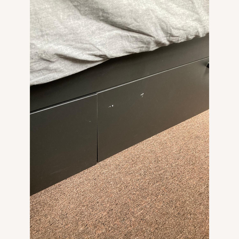 IKEA Brimnes Bed Frame with Storage - image-5
