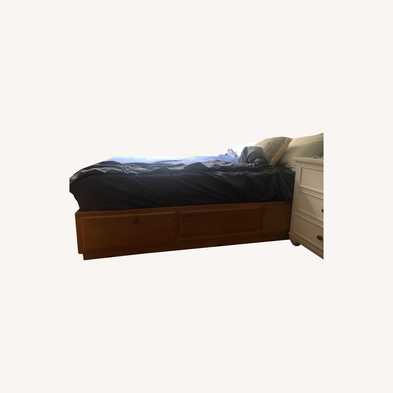 Gothic Cabinet Craft Storage Bed - image-0