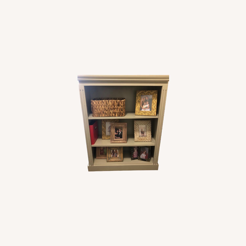 Gothic Cabinet Craft Grey Bookcase - image-0