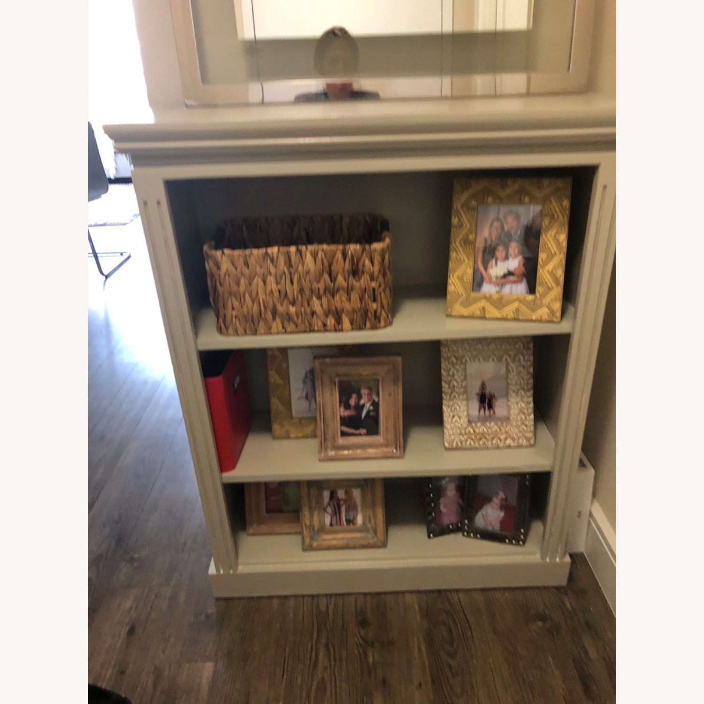 Gothic Cabinet Craft Grey Bookcase - image-1