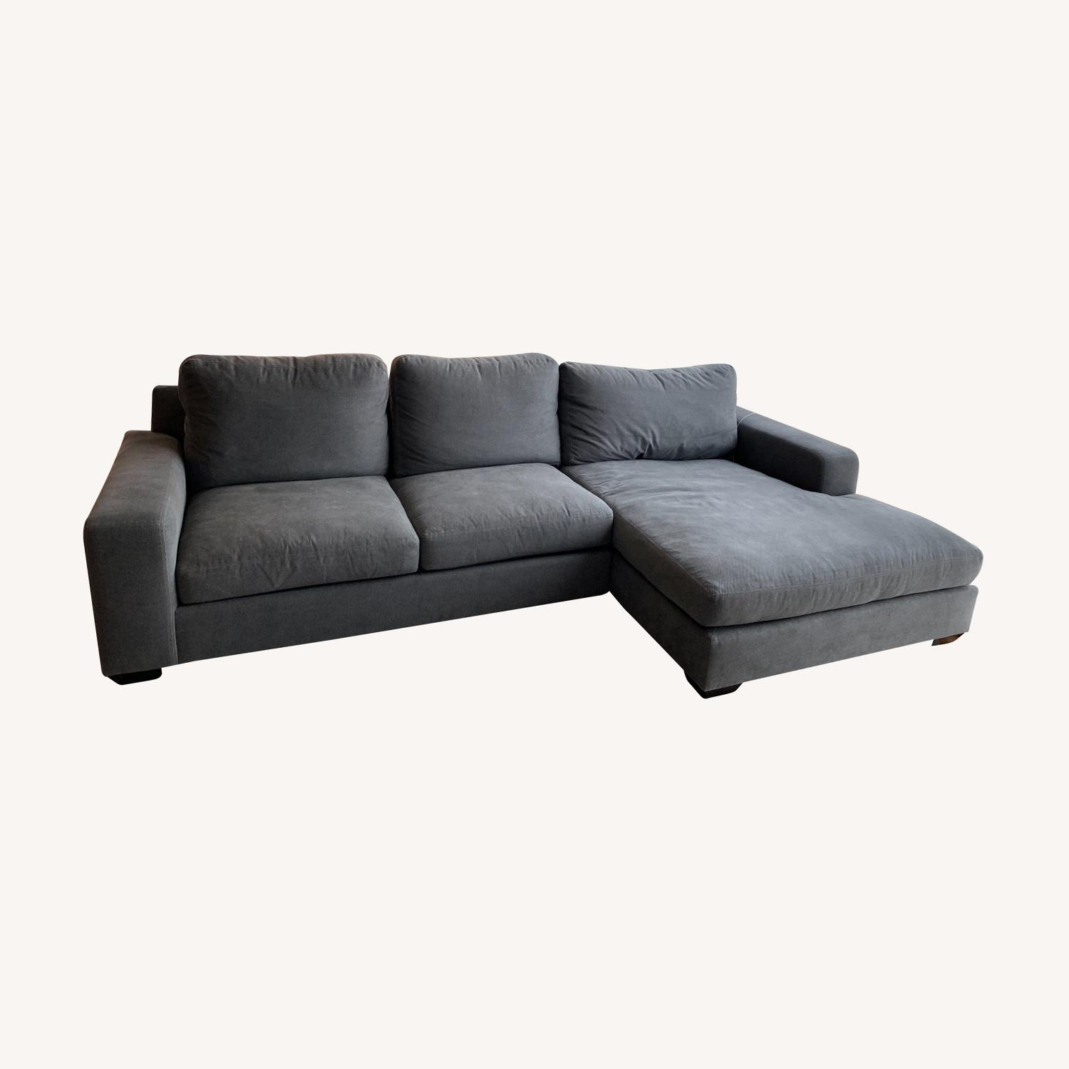 Pottery Barn Custom Couch - image-0