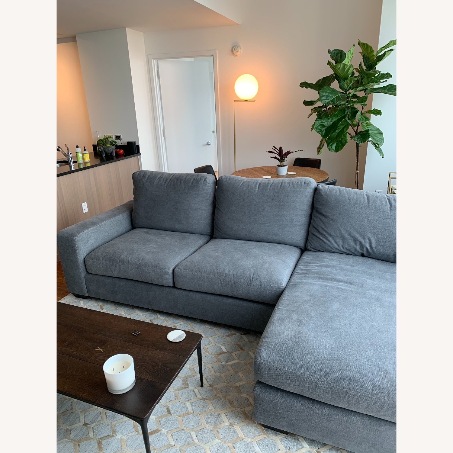 Pottery Barn Custom Couch - image-2