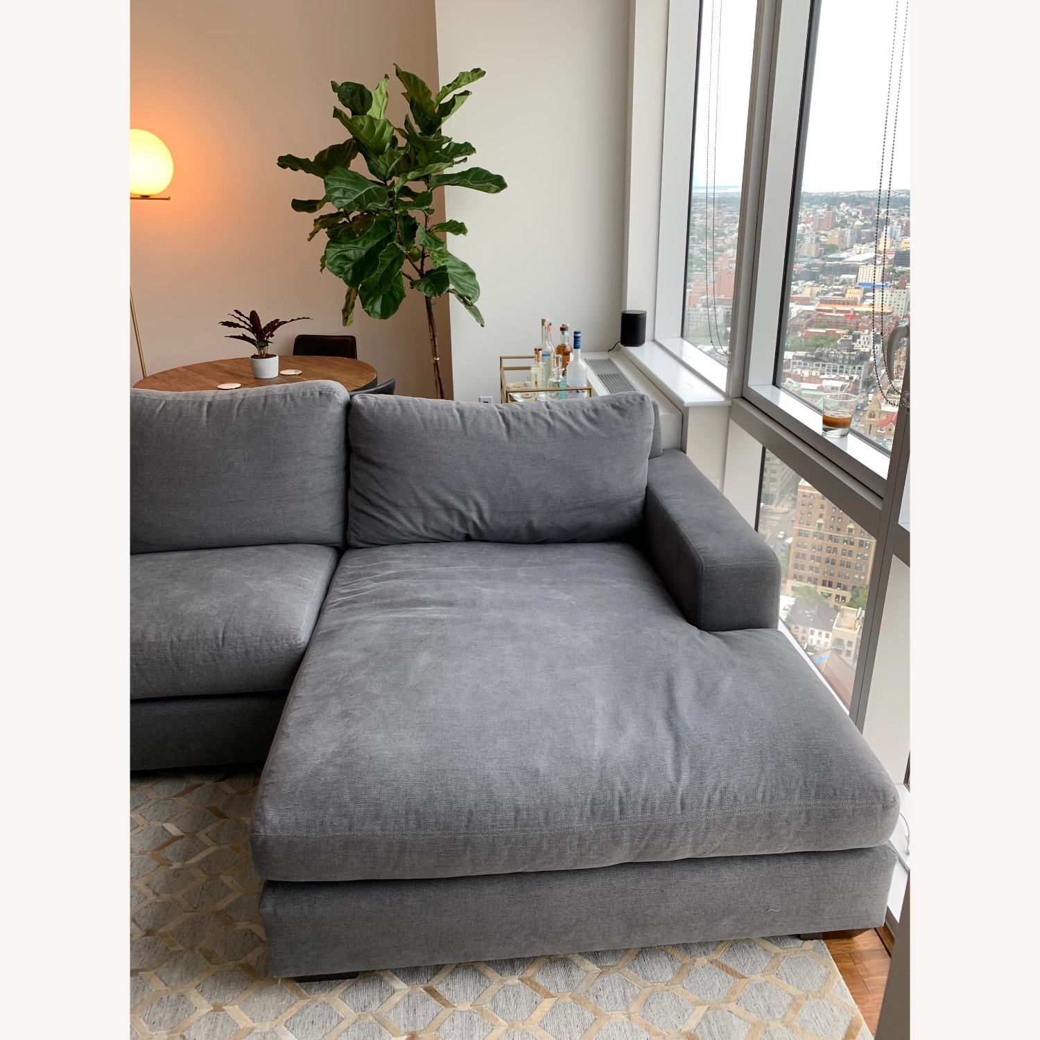 Pottery Barn Custom Couch - image-4