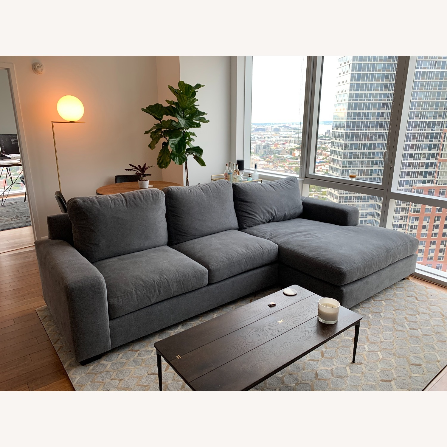 Pottery Barn Custom Couch - image-1