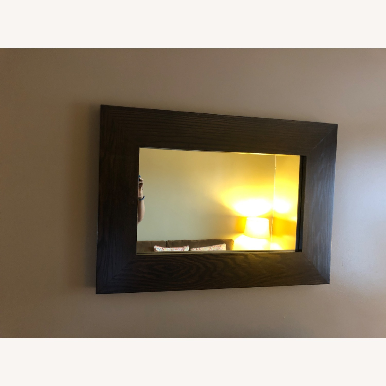 West Elm Chunky Wall Mirror - image-1