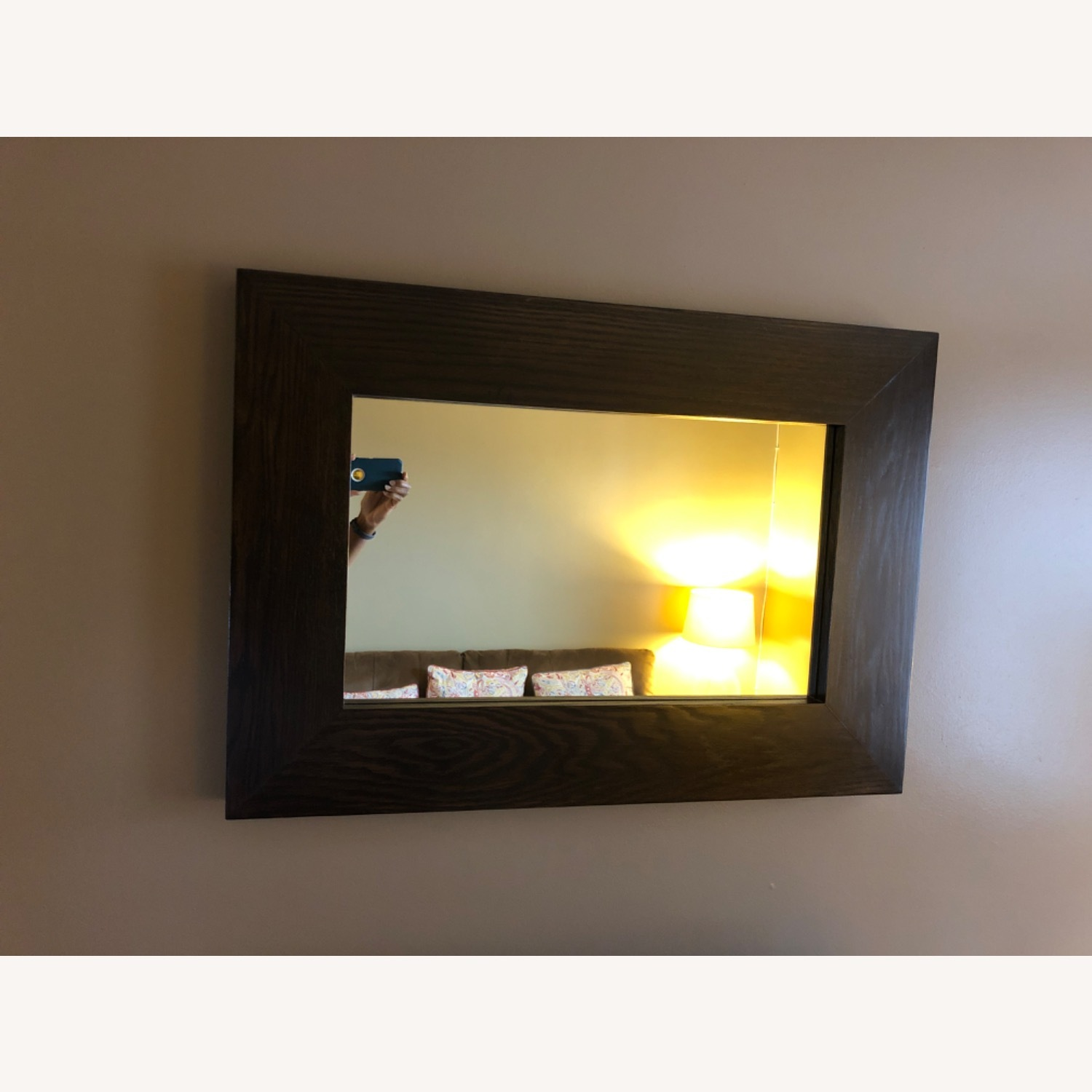 West Elm Chunky Wall Mirror - image-2