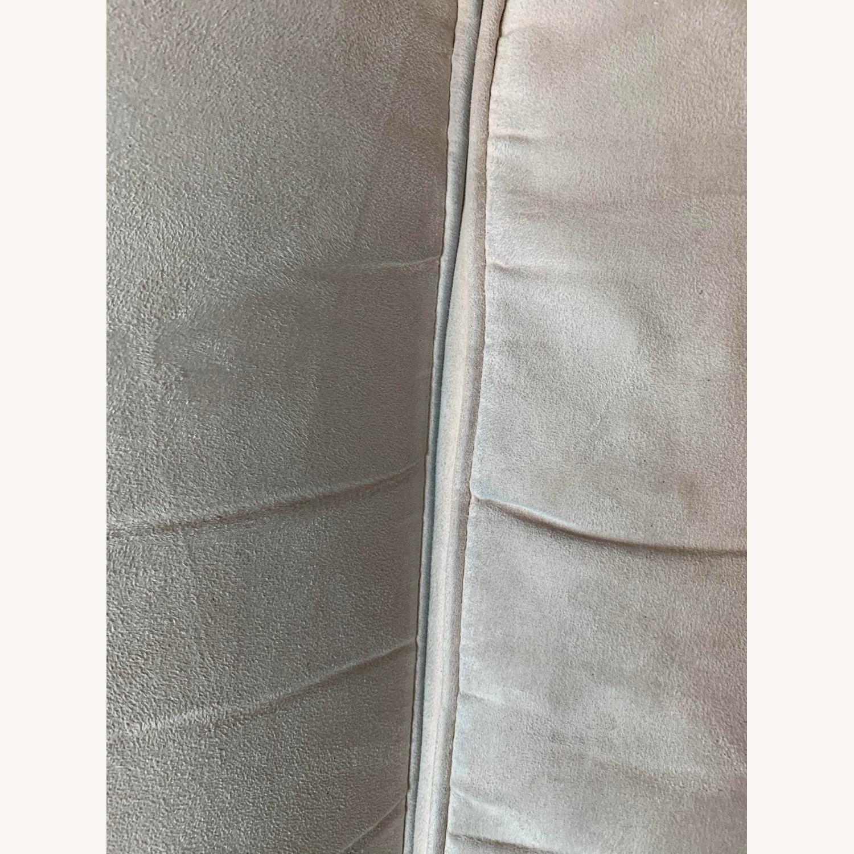 Wayfair Rolled Arm Microfiber Sofa - image-4