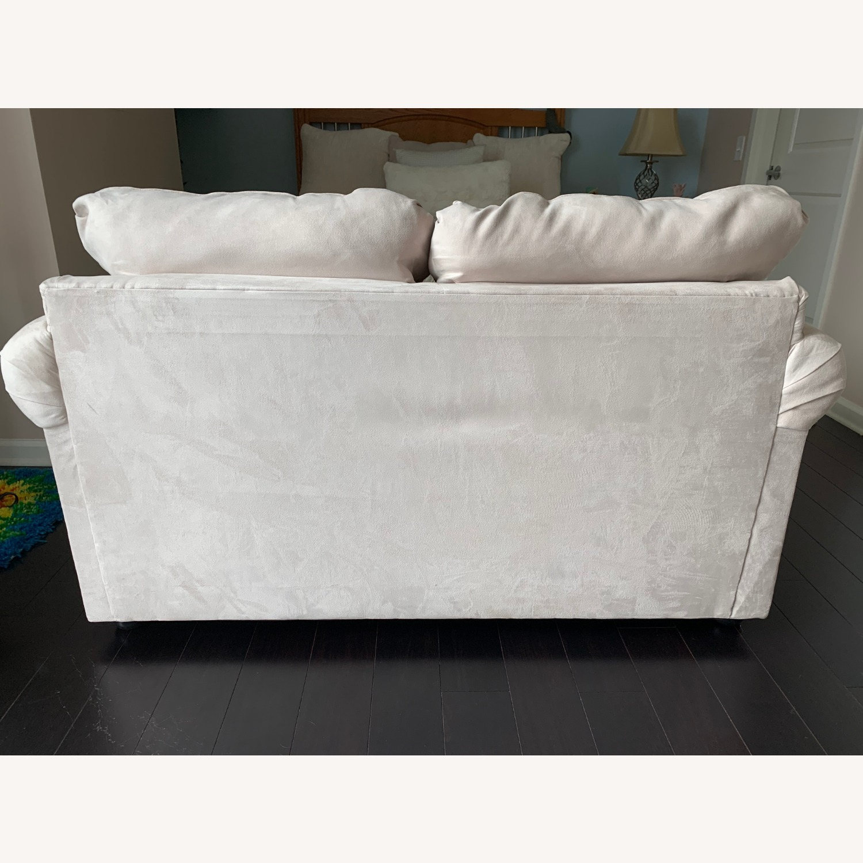 Wayfair Rolled Arm Microfiber Sofa - image-2