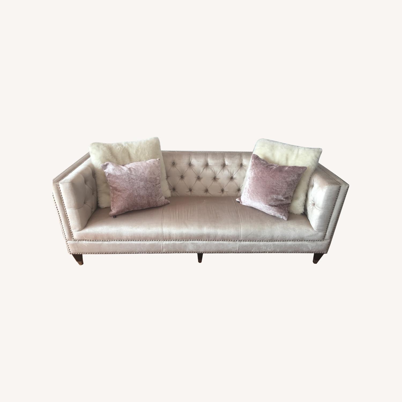 Safavieh Glam Velvet Sofa - image-0