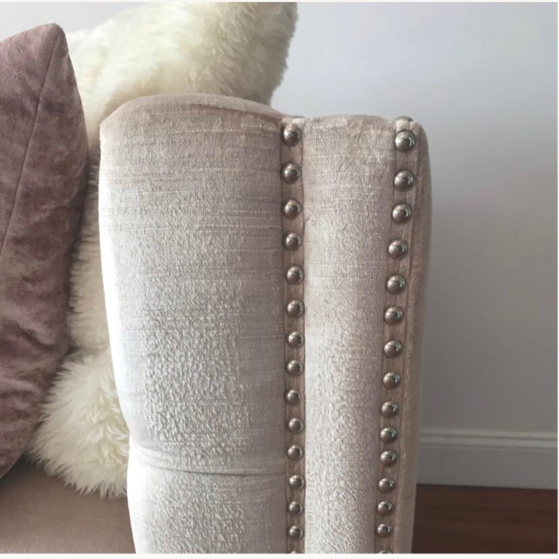 Safavieh Glam Velvet Sofa - image-3