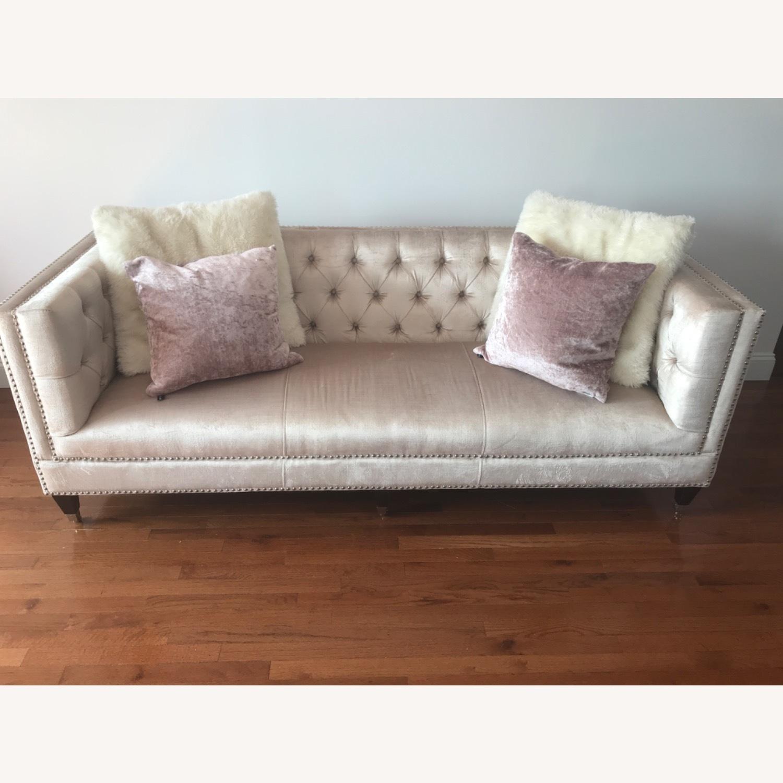 Safavieh Glam Velvet Sofa - image-1