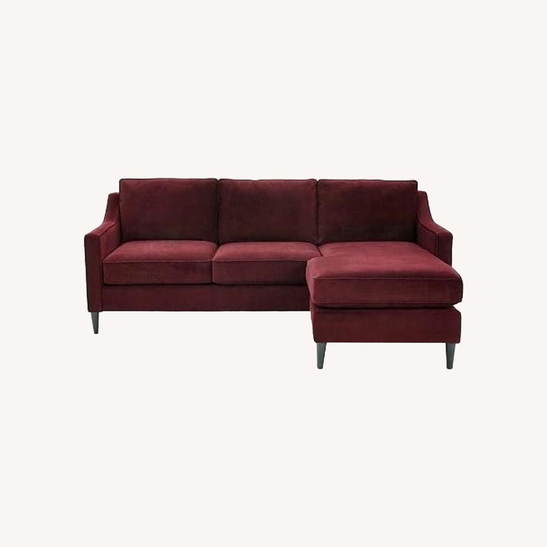West Elm Paidge Reversible Sectional Sofa - image-0