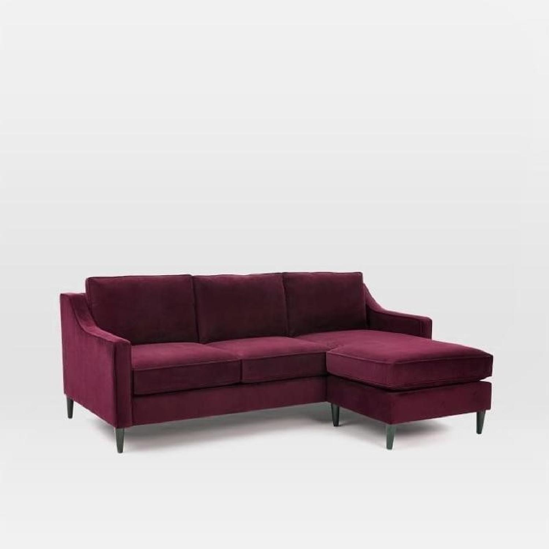 West Elm Paidge Reversible Sectional Sofa - image-2