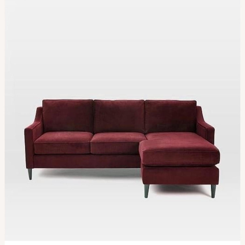 West Elm Paidge Reversible Sectional Sofa - image-1