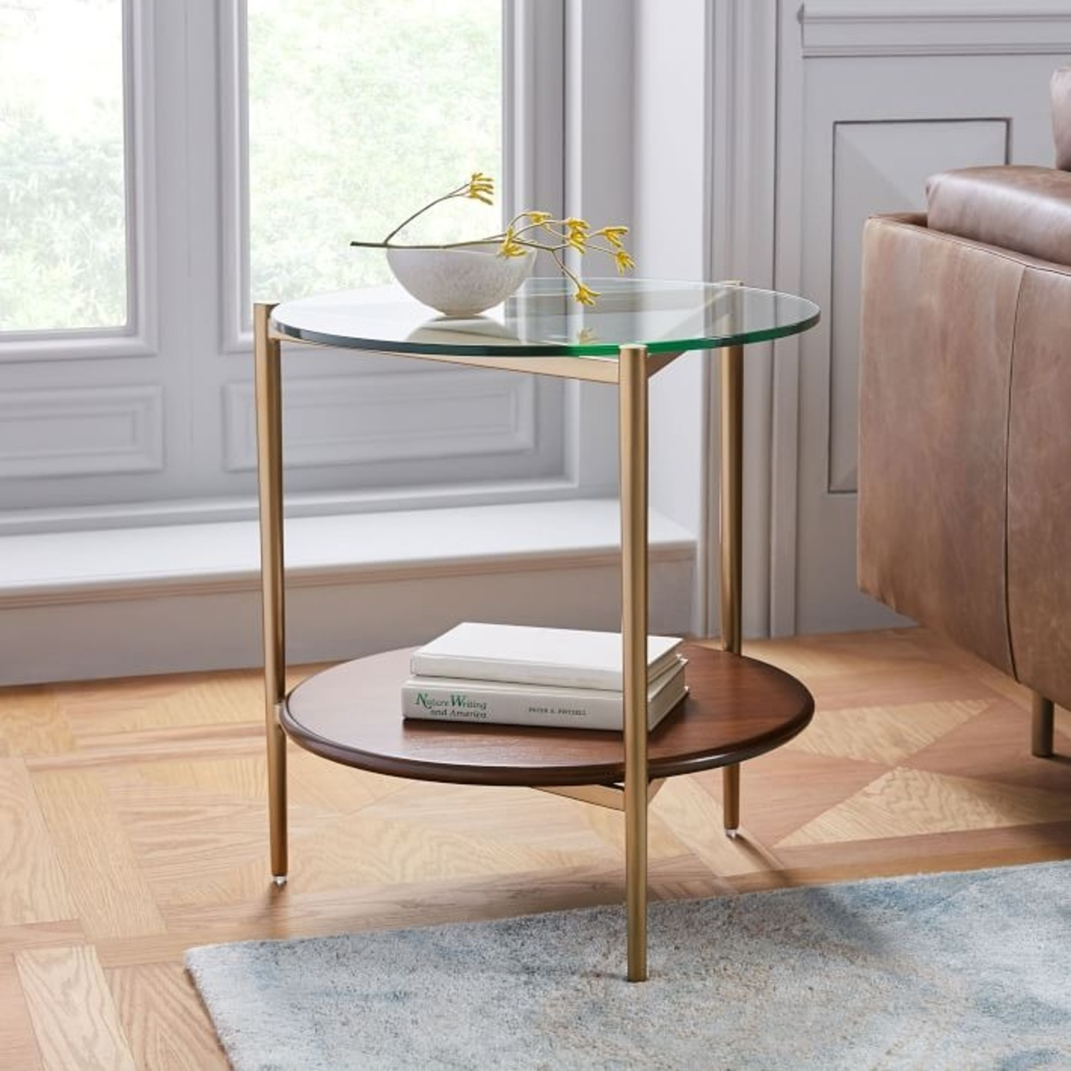 West Elm Mid-Century Art Display Side Table - image-2