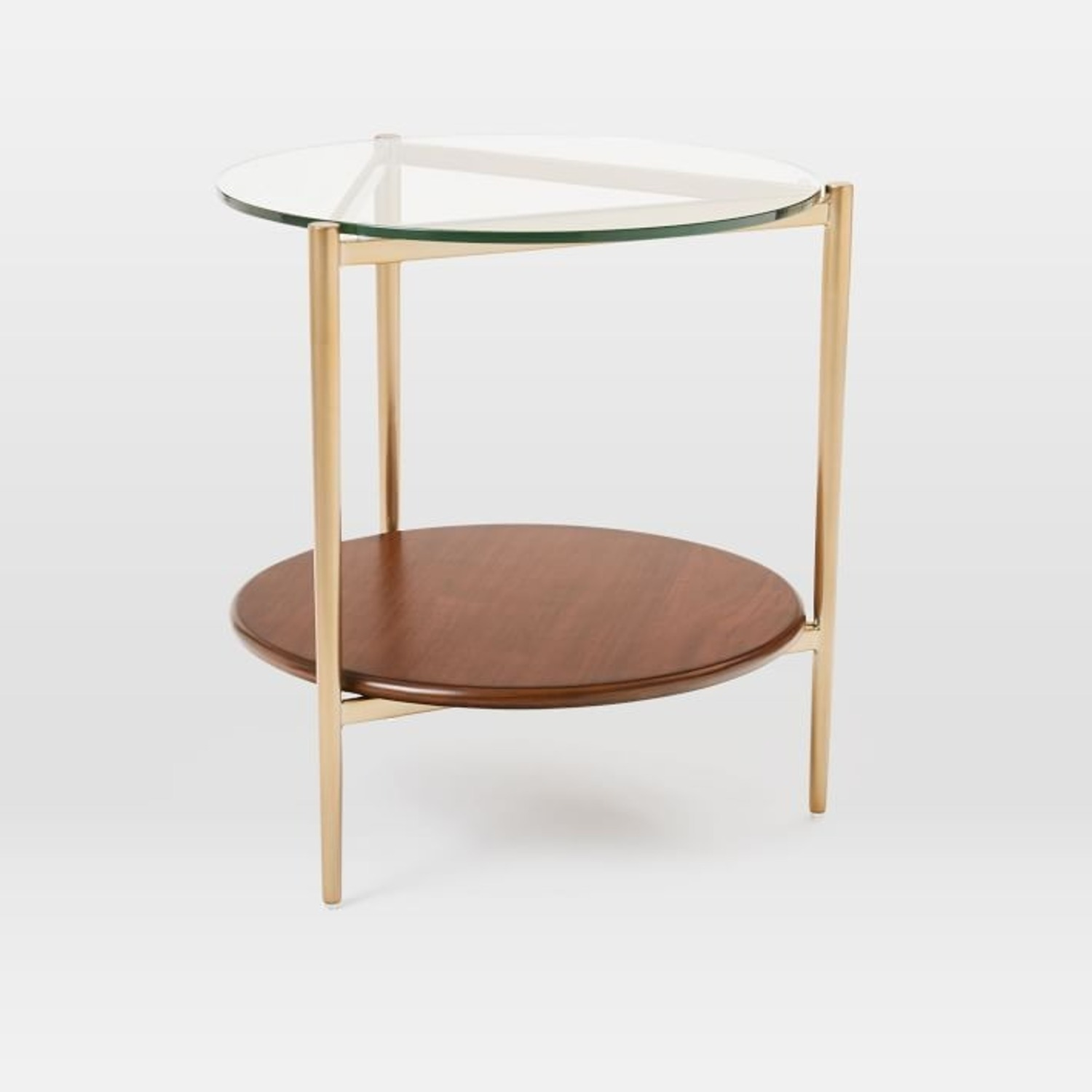 West Elm Mid-Century Art Display Side Table - image-1