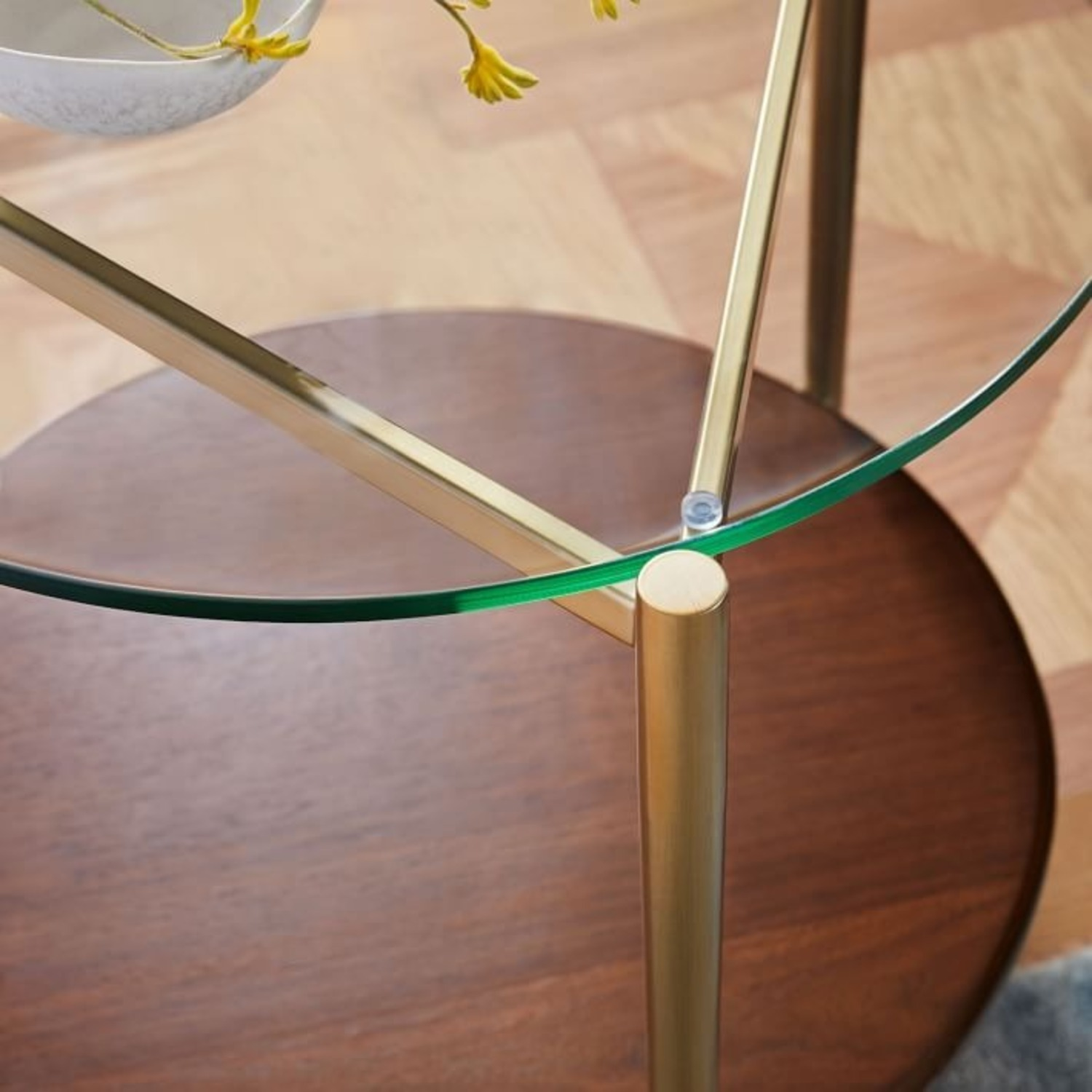 West Elm Mid-Century Art Display Side Table - image-3
