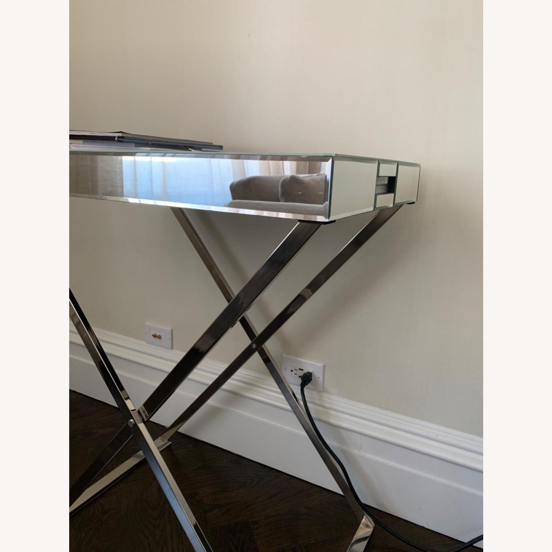 West Elm Butler Bar Cart Set - Mirror Tray - image-4