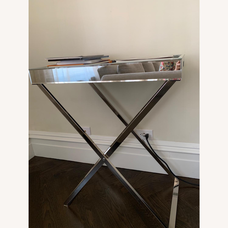West Elm Butler Bar Cart Set - Mirror Tray - image-1