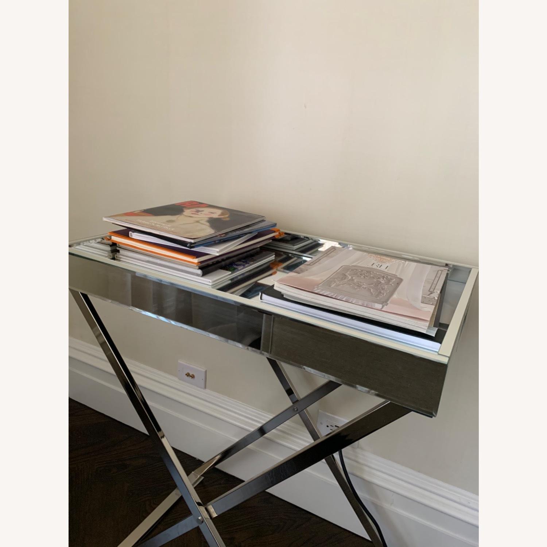 West Elm Butler Bar Cart Set - Mirror Tray - image-3