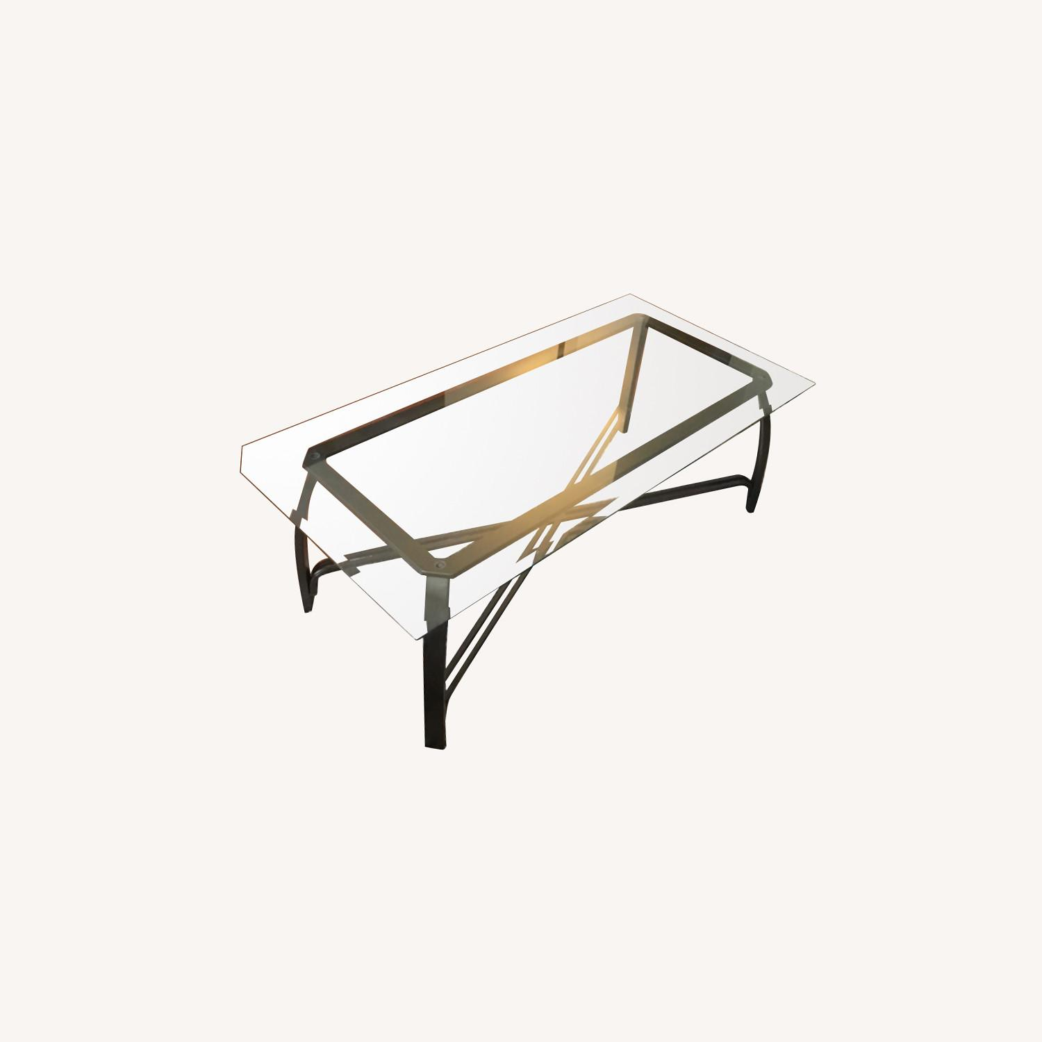 Ashley Furniture Glass Coffee Table - image-0