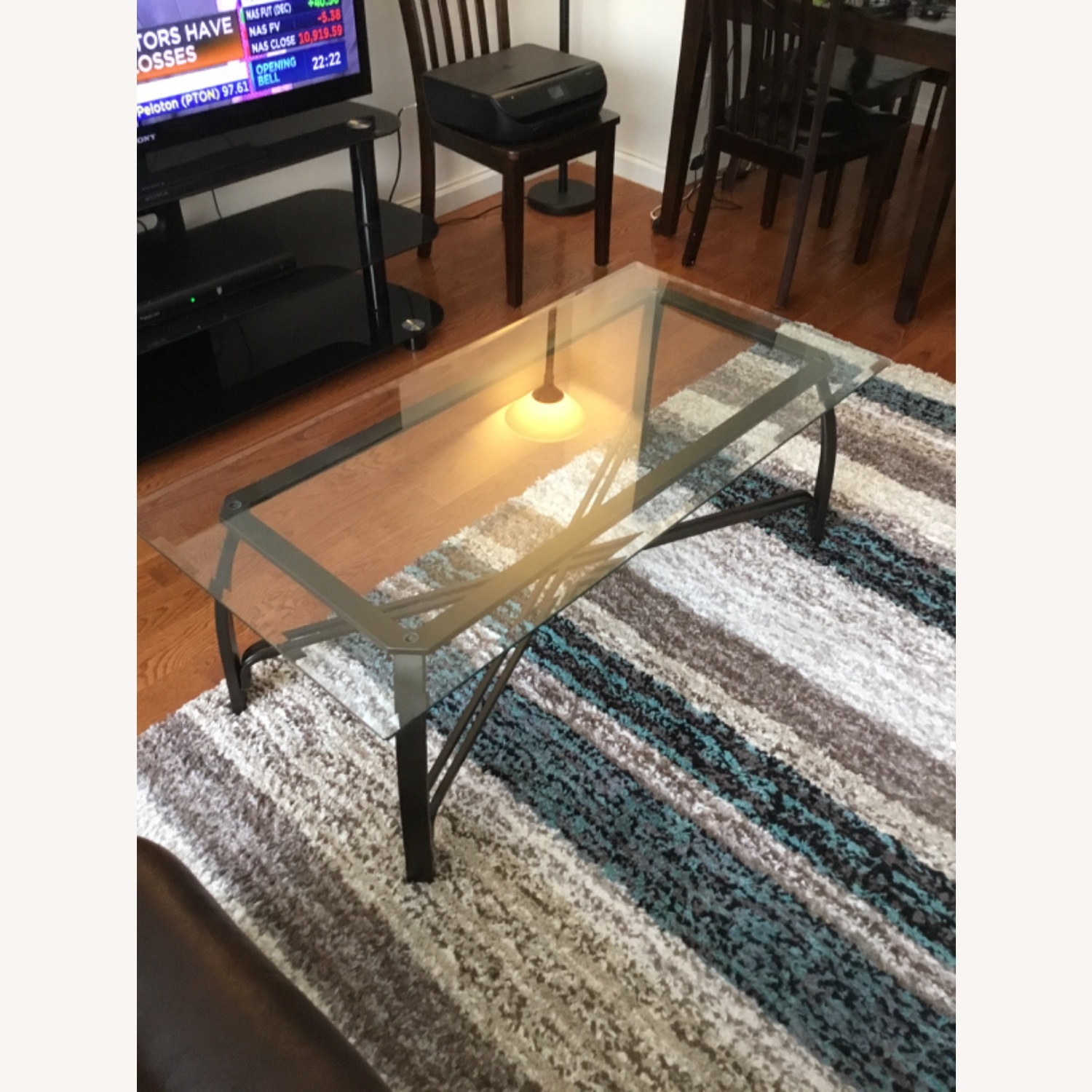 Ashley Furniture Glass Coffee Table - image-1