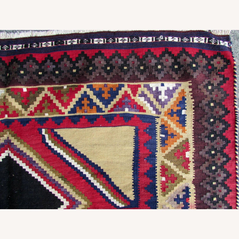 Handmade vintage Persian Ardabil kilim - image-5