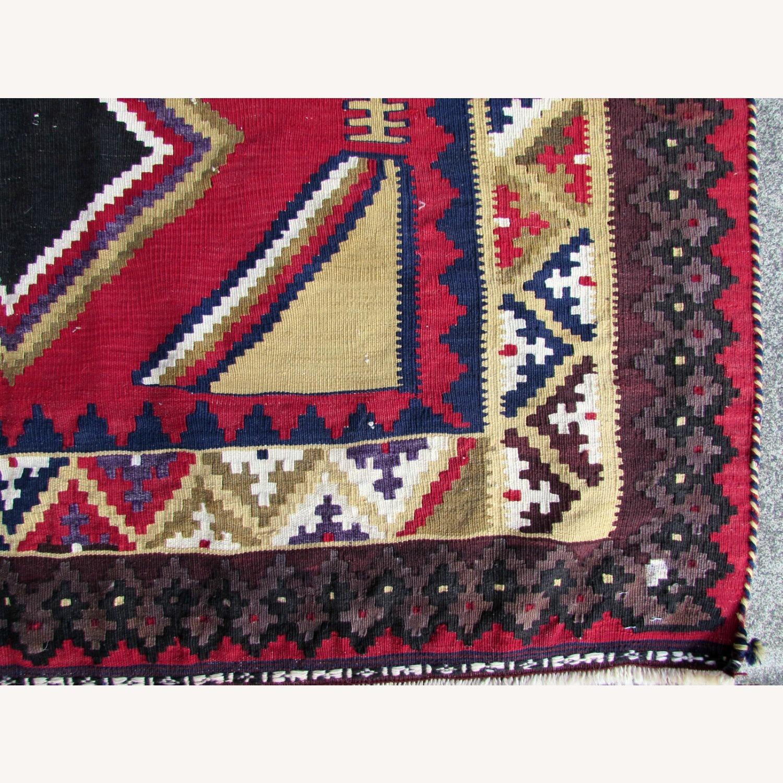 Handmade vintage Persian Ardabil kilim - image-9