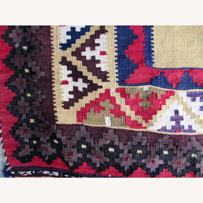 Handmade vintage Persian Ardabil kilim - image-8
