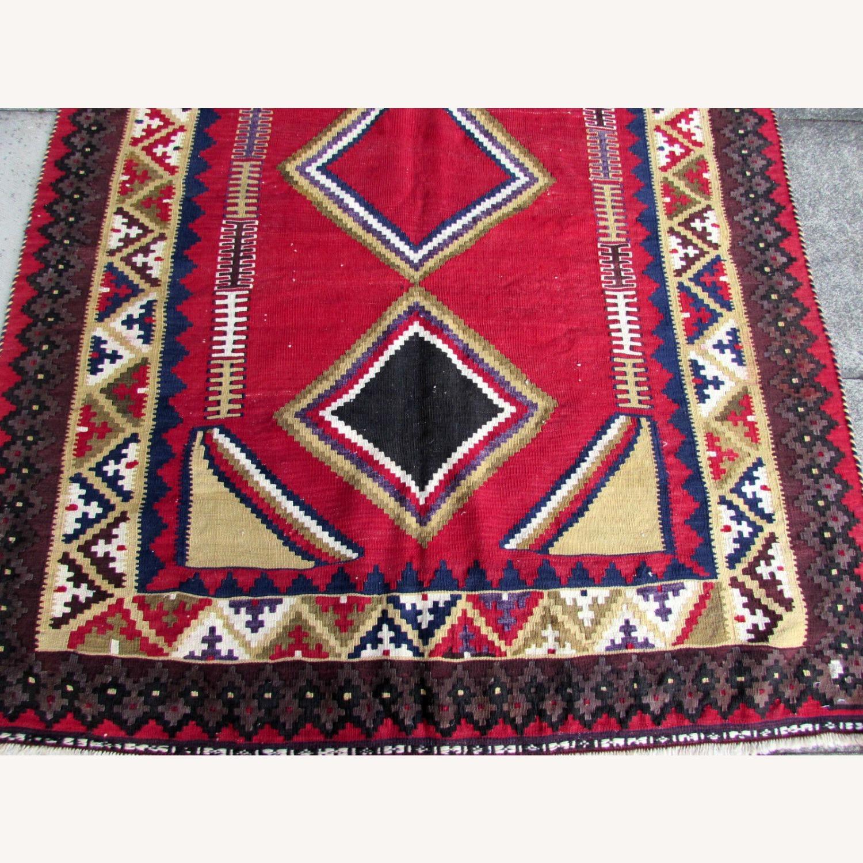 Handmade vintage Persian Ardabil kilim - image-2