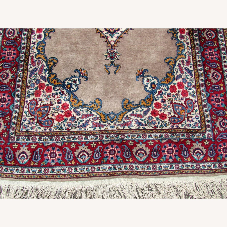 Handmade antique Persian Malayer rug - image-4