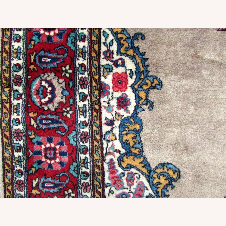 Handmade antique Persian Malayer rug - image-9