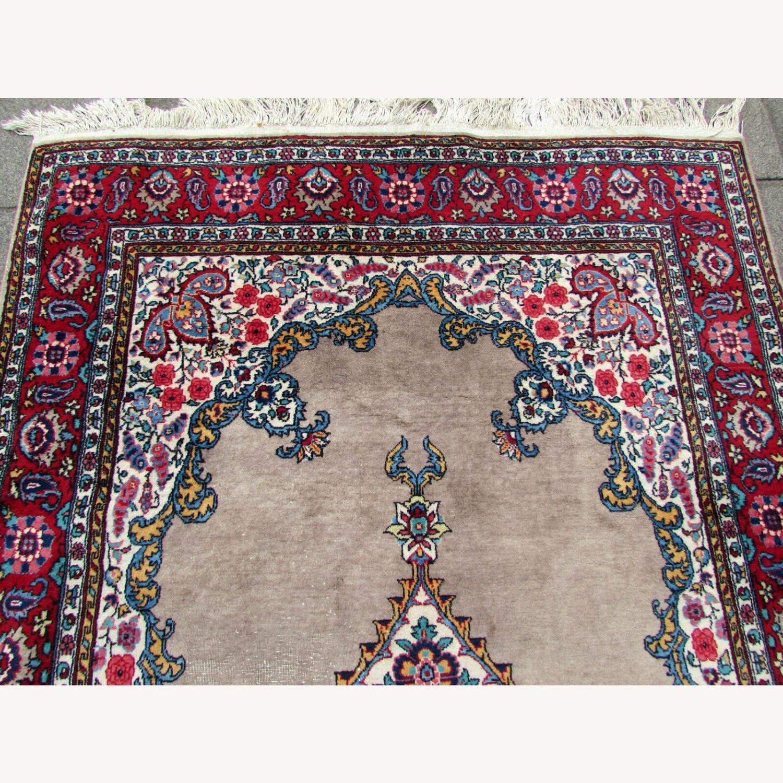 Handmade antique Persian Malayer rug - image-2