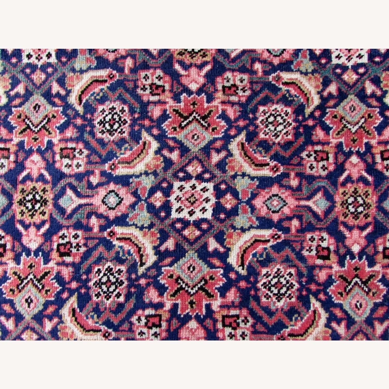 Handmade vintage Persian Mahal rug - image-11