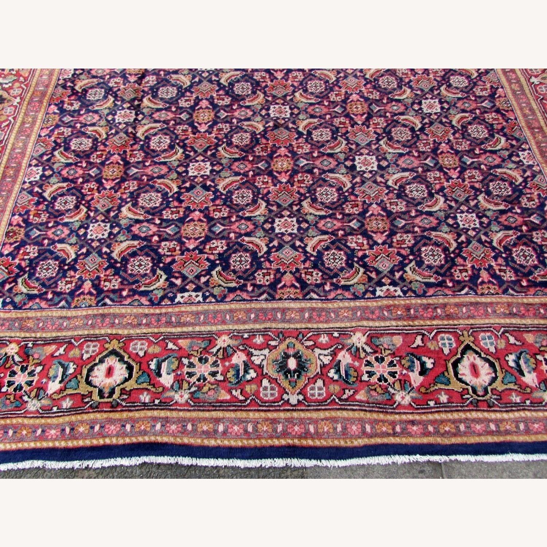 Handmade vintage Persian Mahal rug - image-12