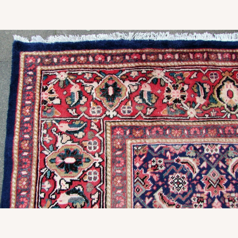 Handmade vintage Persian Mahal rug - image-10