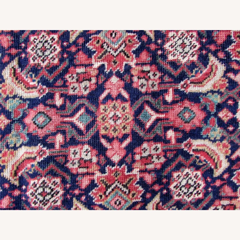 Handmade vintage Persian Mahal rug - image-4