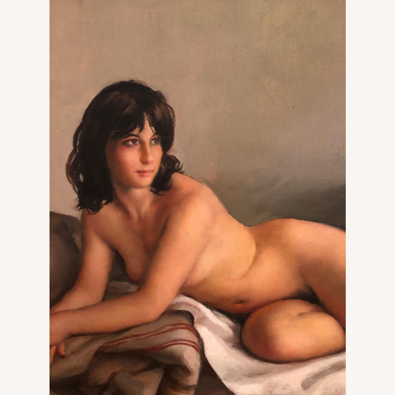 Ehlinger oil on canvas nude - image-2
