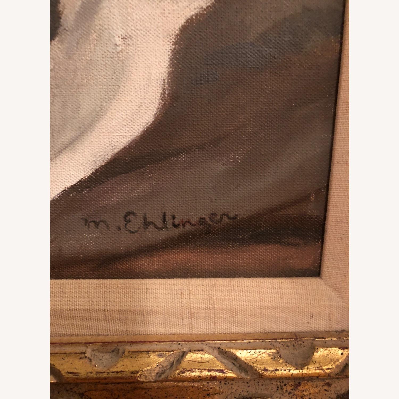 Ehlinger oil on canvas nude - image-3